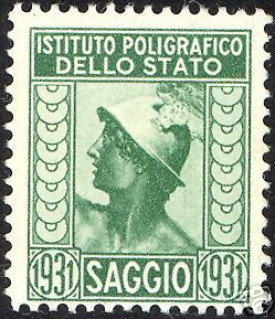 Italy IPS 1931 Ancient Head.jpg